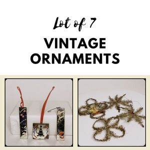 ANTIQUE | German Holiday Christmas Ornaments